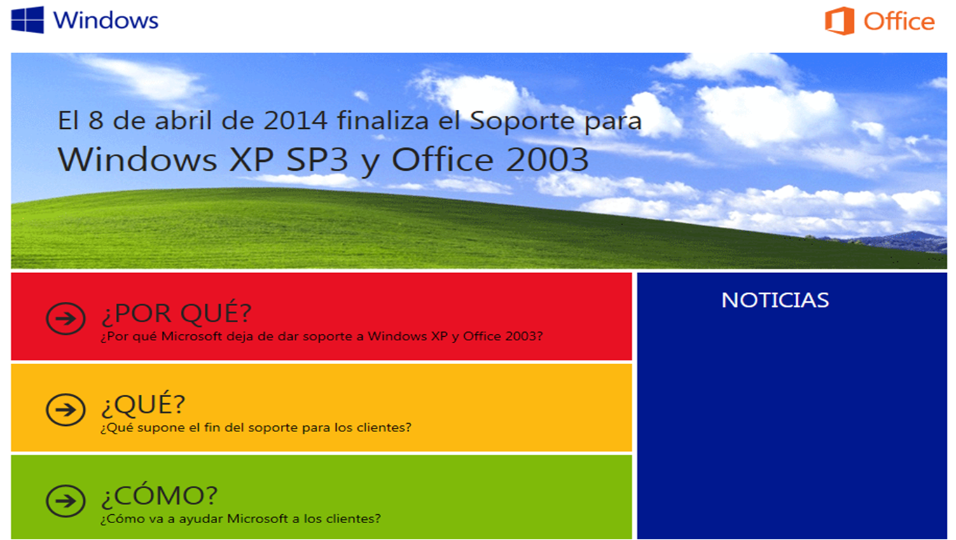 Fin de soporte de windows XP: Una oportunidad para ahorrar